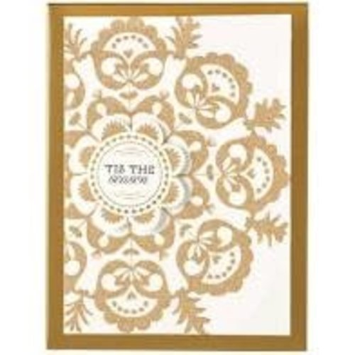 Glitter Nordic Snowflake Boxed Christmas Cards  by ANNA GRIFFIN