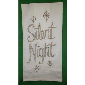 TOWEL FLOUR SACK SILENT NIGHT