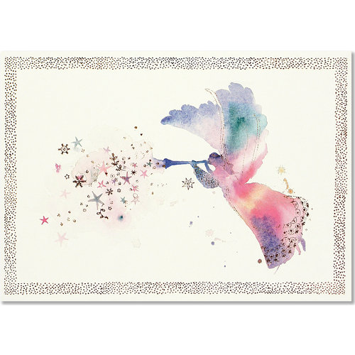 Watercolor Angel Deluxe Boxed Christmas Cards