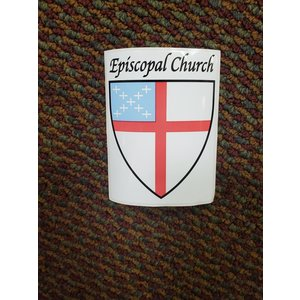 Episcopal Church Window Decal