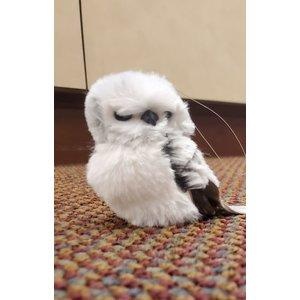 Furry Owl Ornament