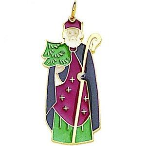Ornament Enamel ST NICHOLAS