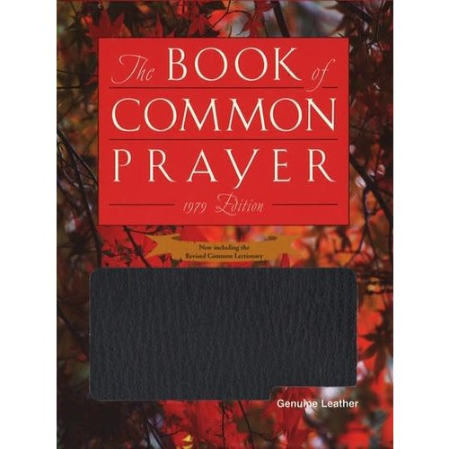 BOOK OF COMMON PRAYER, LEATHER, BLACK