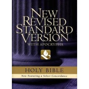 NRSV BIBLE with Apocrypha Blue Cloth Hardcover