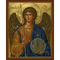 "ST. MICHAEL ARCHANGEL - SMALL  4"" x 5"""