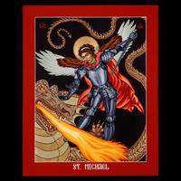 "ST. MICHAEL ARCHANGEL - MEDIUM  5 1/2"" x 7"""