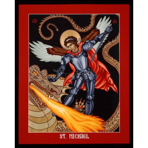 "ST. MICHAEL ARCHANGEL - MEDIUM  5 1/2"" x 7"""