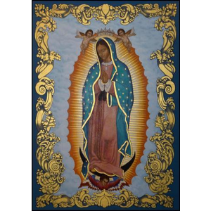 "OUR LADY OF GUADALUPE - MEDIUM  5"" x 7"""