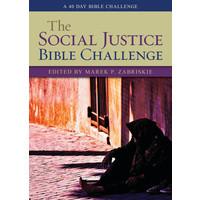 SOCIAL JUSTICE BIBLE CHALLENGE: A 40 DAY BIBLE CHALLENGE by MAREK ZABRISKIE
