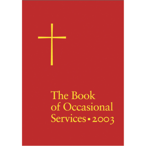 BOOK OF OCCASIONAL SERVICES 2003