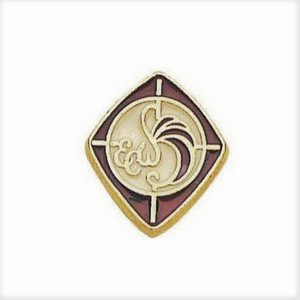 EPISCOPAL CHURCH WOMEN PIN by TERRA SANCTA