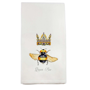 French Graffiti Dish Towel Queen Bee