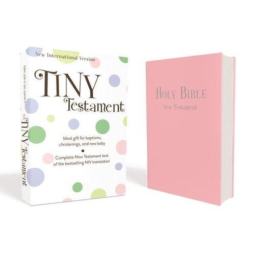TINY TESTAMENT NIV PINK
