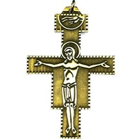 SAN DAMIANO CROSS NECKLACE