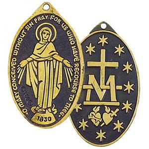 The Miraculous Faith Medal Necklace