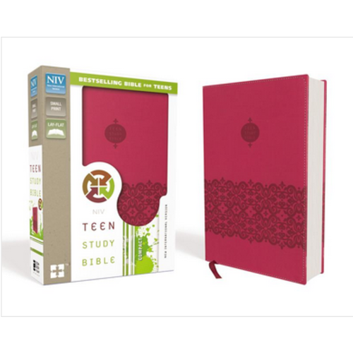 RICHARDS, LAWRENCE & SUE NIV, Teen Study Bible (PINK)