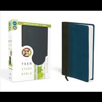 NIV, Teen Study Bible (GRAPHITE/BLUE)