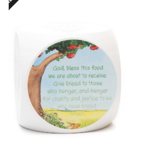 The Original Mealtime Prayer Cube - Limited Edition