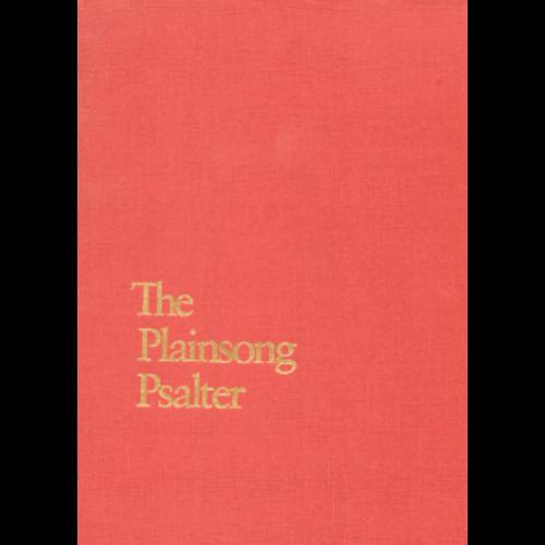 LITTON, JAMES (EDITOR) PLAINSONG PSALTER by JAMES LITTON (EDITOR)