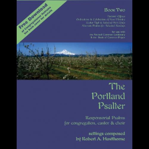 HAWTHORNE, ROBERT PORTLAND PSALTER BOOK TWO by ROBERT HAWTHORNE