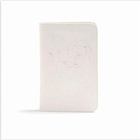 Baby's New Testament with Psalms, CSB, White Leathertouch
