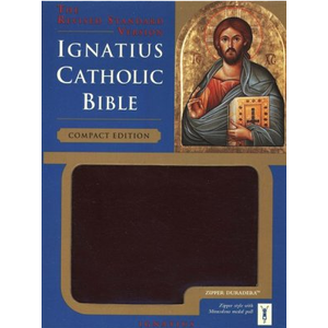 BIBLE/RSV/IGNATIUS CATHOLIC BIBLE COMPACT EDITION