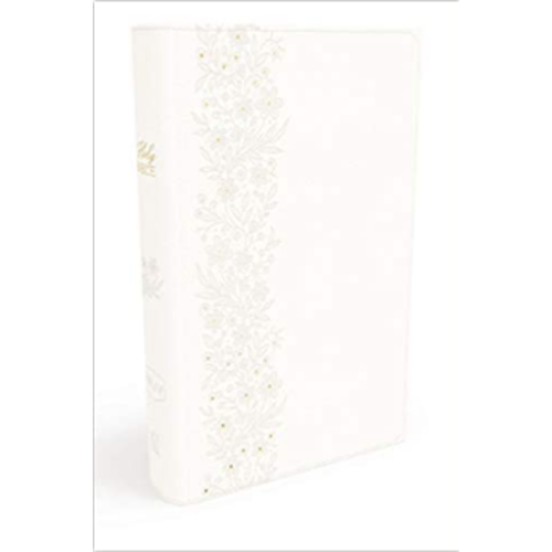NKJV, Bride's Bible, Leathersoft, White, Red Letter, Comfort Print