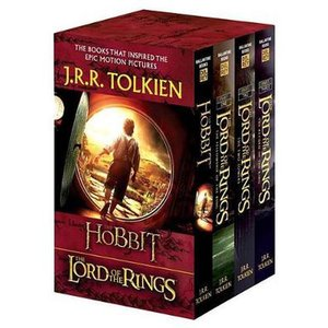TOLKIEN, J. R.R. J.R.R. Tolkien 4-Book Boxed Set: The Hobbit and the Lord of the Rings