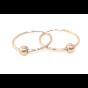 Earrings Small Hoop Gold Basics by ERIN GRAY