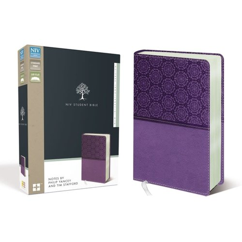 NIV Student Bible Lavender with Notes by Philip Yancey and Tom Stafford