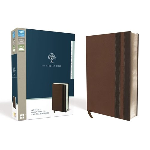 NIV Student Bible Brown with Notes by Philip Yancey and Tom Stafford