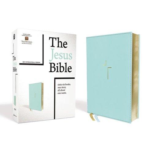 The Jesus Bible NIV Teal New International Version