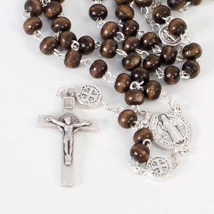 ROSARY ST BENEDICT MEDAL