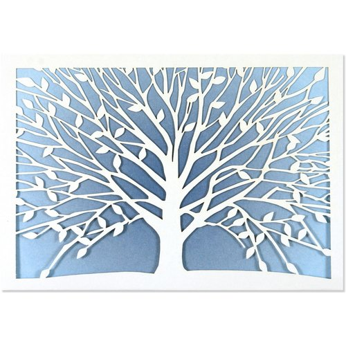 NOTE CARDS - Tree of Life LASER-CUT by Peter Pauper Press