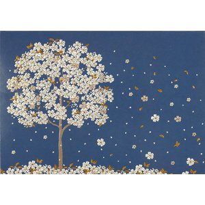 NOTE CARDS - Falling Blossoms by Peter Pauper Press