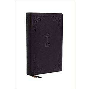 NRSV, Catholic Bible, Gift Edition, Leathersoft, Black, Comfort Print