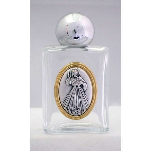 """HOLY WATER BOTTLE - DIVINE MERCY 1.75""""x3.25"""""""