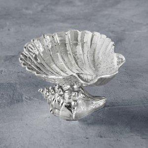PEDESTAL OCEAN SHELL BOWL by Beatriz Ball