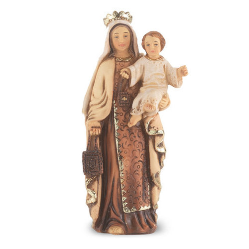 """OUR LADY OF MT CARMEL RESIN STATUE 4"""""""
