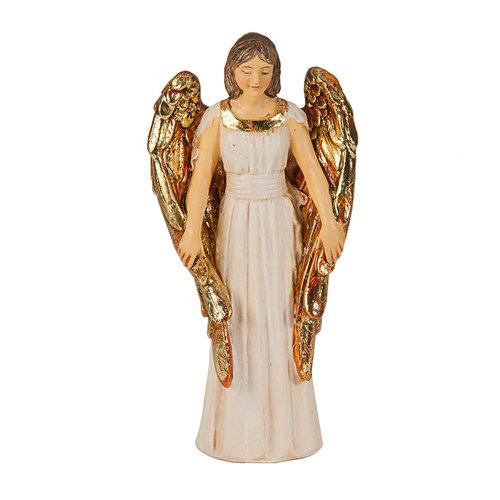 "GUARDIAN ANGEL RESIN STATUE 4"""