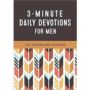 3-Minute Daily Devotions for Men: 365 Encouraging Readings by Barbour Staff (compiled)