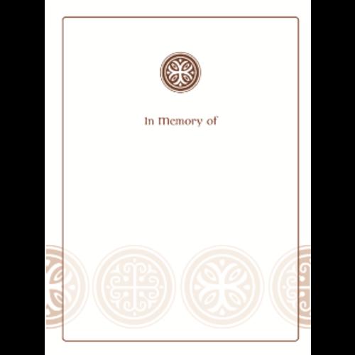 Celtic Cross Bookplate-In Memory Of