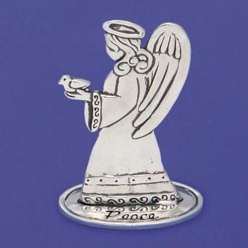 """ANGEL OF PEACE PEWTER 3"""" from Basic Spirit"""