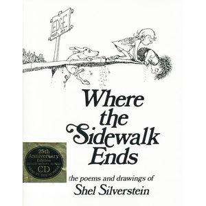 SILVERSTEIN, SHEL WHERE THE SIDEWALK ENDS by SHEL SILVERSTEIN