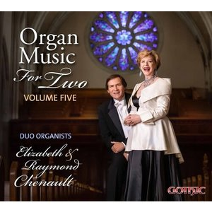 CHENAULT, RAYMOND ORGAN MUSIC FOR TWO VOL 5 by RAYMOND & ELIZABETH CHENAULT