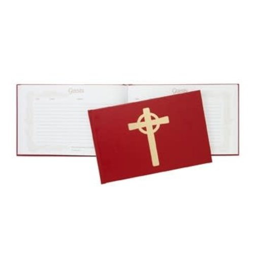 GUEST BOOK RED