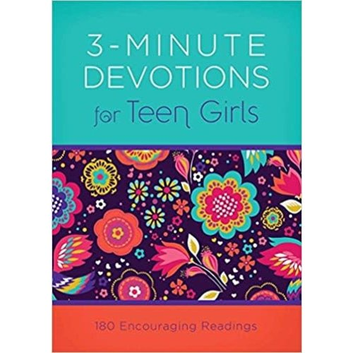 FRAZIER, APRIL 3-MINUTE DEVOTIONS FOR TEEN GIRLS by APRIL FRAZIER