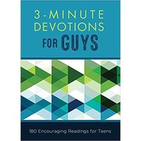 3-MINUTE DEVOTIONS FOR GUYS by GLENN HASCALL
