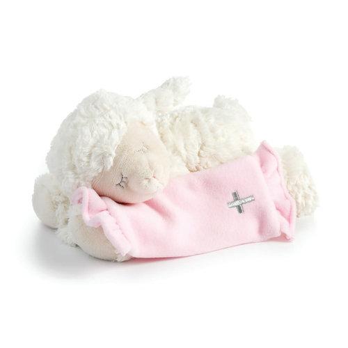 Musical Lamb Pink Now I Lay Me Down to Sleep