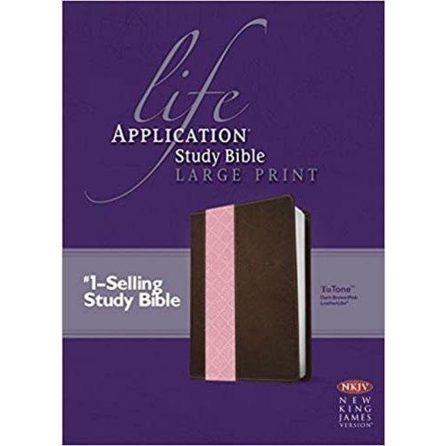 NKJV Life Application Study Bible, Second Edition, Large Print, TuTone